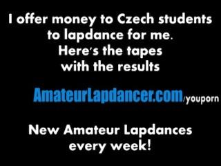 Amazing Redhead Lapdances For Horny Guy...