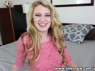 Shesnew round ass jayden rae blows and rides...