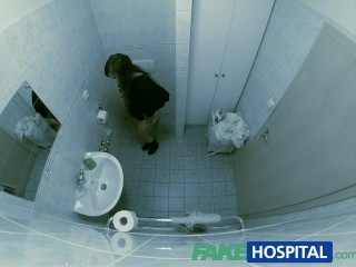 Fakehospital doctor creampies student with amazing...