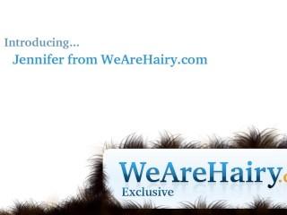 Hairy jennifer gets hands on in...