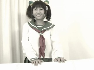 Costumed japanese girl getting dreamroom productions...