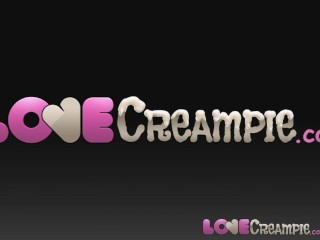Love creampie dumb british slut lets...