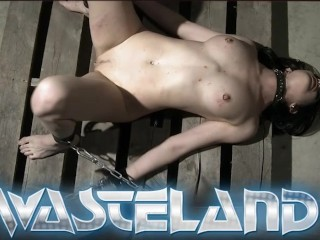 Two Dungeon Masters Spanking Their Sex Slaves Ass...