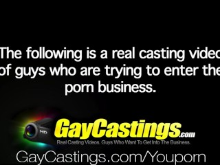 Gaycastings hot and sexy guy with...