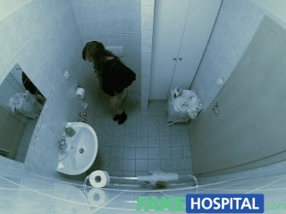 Fakehospital Cock Hungry Patient Wastes No Time Continuing With Her Check Up...
