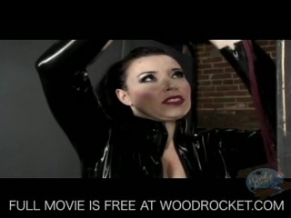 Busty dominatrix hot pain play with prisoner...