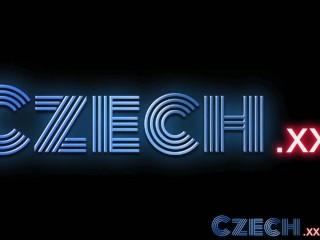 Czech Cute best friends share secret lesbian desires and first time sex...