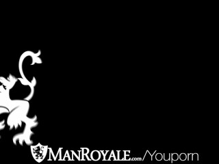 HD   ManRoyale Hardcore massage and ass pounding for two hunks...
