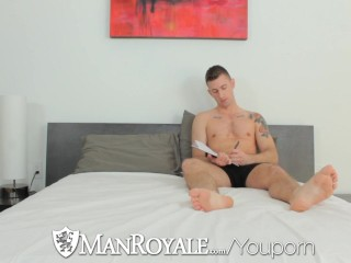 Hot tattooed guy cock hard...