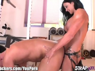 StrapAttackers Jewels Jade Pegs Christian XXX