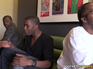 Cammille Gets Her Cougar Pussy Banged By Black Guys...