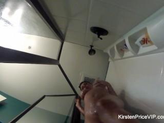 Showers...