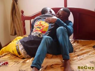Amateur african sensually stud...