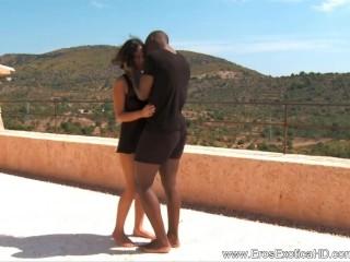 Ebony Couple Turns Into Pure Lust