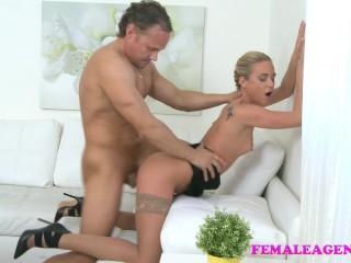 Female muscular studs cock pleasures...