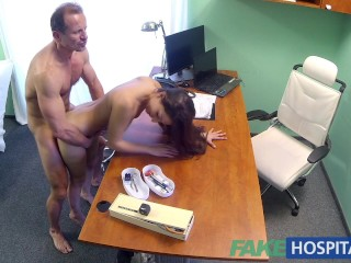 Fakehospital Hot Spanish Patient Gets Fucked Hard And Creampied...