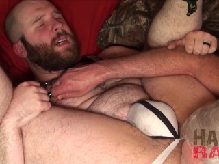 Chubby ginger groans by daddy cock...