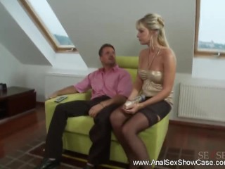 Wild Anal Antics For Sultry MILF...