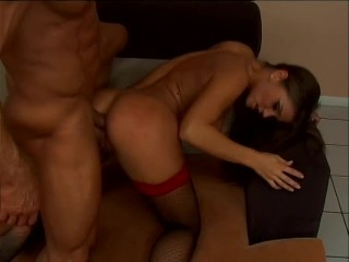 Blonde horny girl wants anal fuck