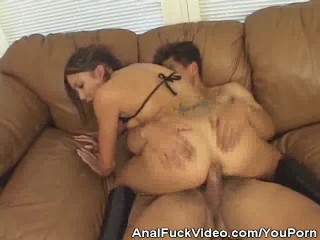 Analed Asian Hottie Gets Cum On Mouth