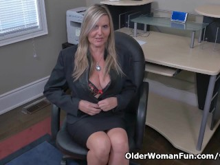 Canadian milf velvet skye creams chair...