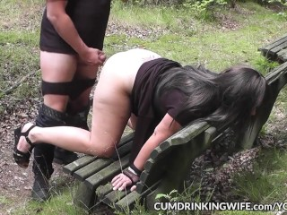 Dogging slutwife marion gangbanged