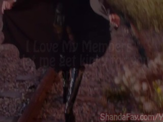Batgirl shanda fay gives public...