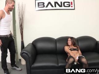 Bang casting sara gets choked during...