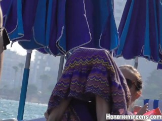 Big Tits Topless Beach Girls Voyeur Video HD Spy Cam