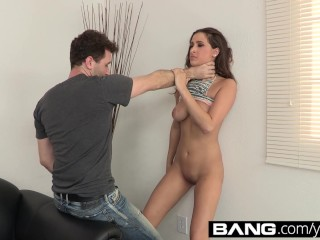 Ashley gets tied up fucked...