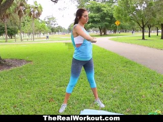 Teamskeet   Hot Fitness Model Fucked After Workout...