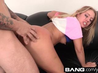 BANG Casting: Candice Dare Takes Three Dicks At Once