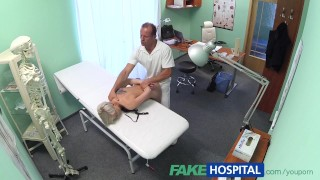 voyeur, hidden camera, fakehospital, reality, real, amateur, tattoo, blonde, doctor, patient, spying, spy cam amateur, hd